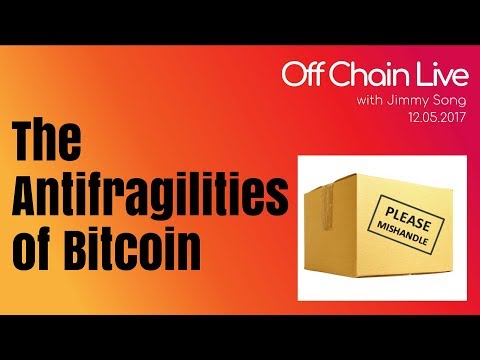 The Antifragility of Bitcoin at Raleigh Bitcoin Meetup - Off Chain Live 2017.12.05