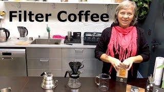 Filter coffee | Príprava filtrovanej kávy