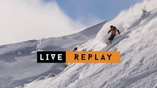 LIVE WEBCAST - Freeride World Tour Kicking Horse Golden BC 2019