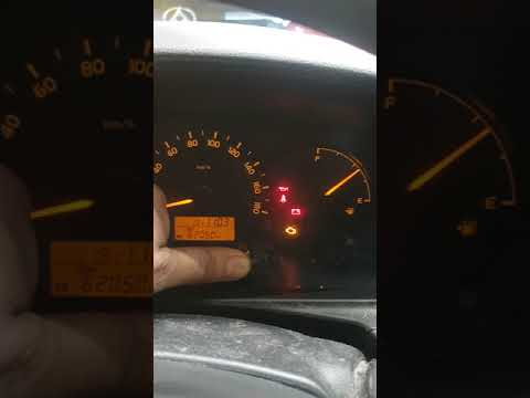 How to reset timing belt reminder on toyota hiace - YouTube