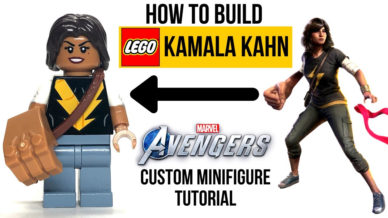 HOW TO Build LEGO KAMALA KHAN from the 2020 Avengers Video Game