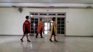 KASMARAN - line dance (Masna Taufik - INA) demo by Wenarika, Budi, Yola