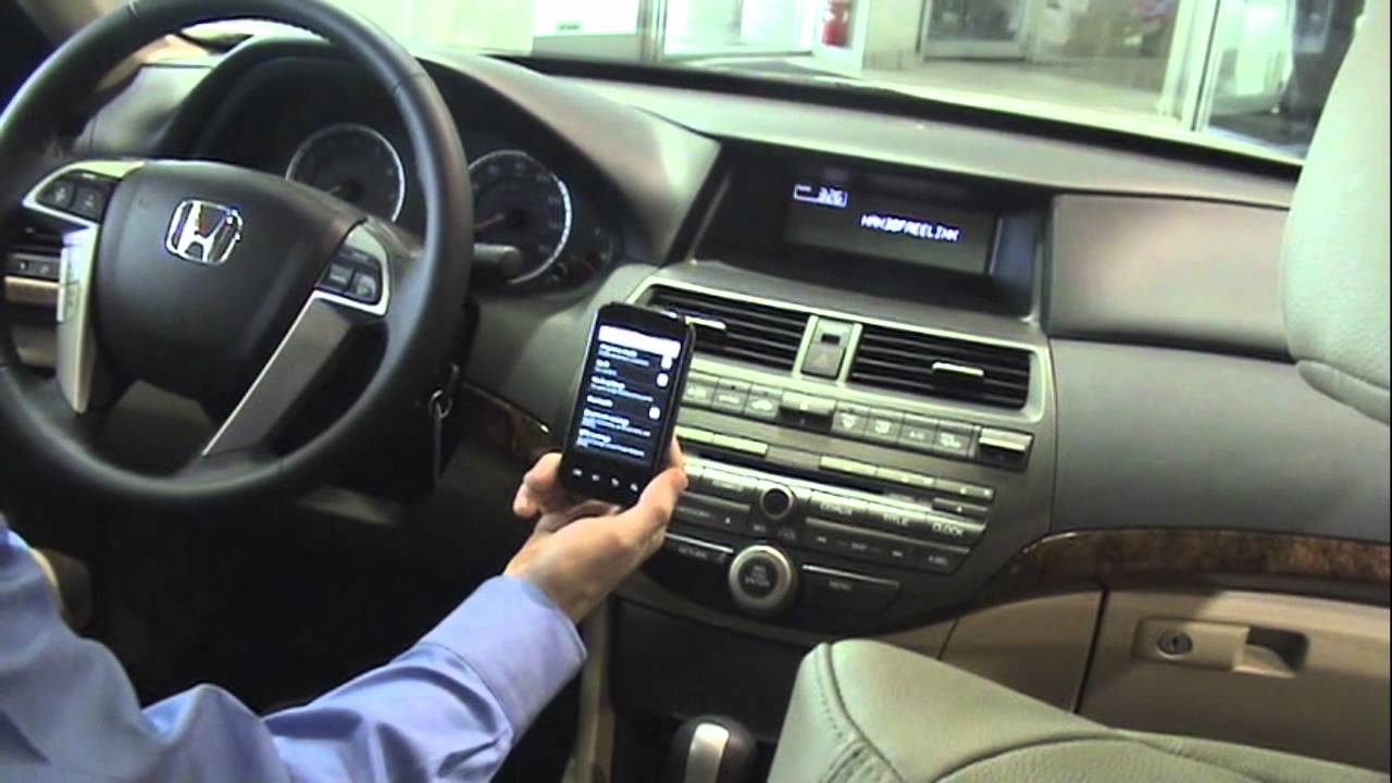 How To Pair A Bluetooth Phone To A 2012 Honda Video