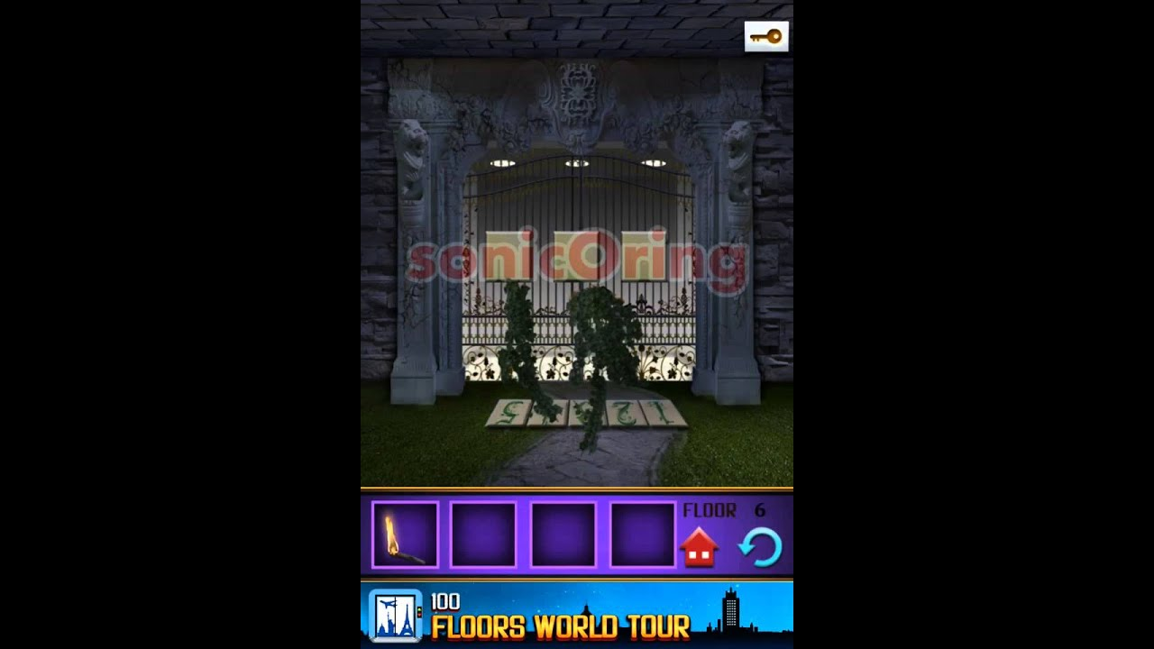 100 Floors The Castle Level 6 Walkthrough Youtube