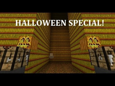 Corn Maze in Minecraft - Halloween, 400th video, and 1 Year Special!