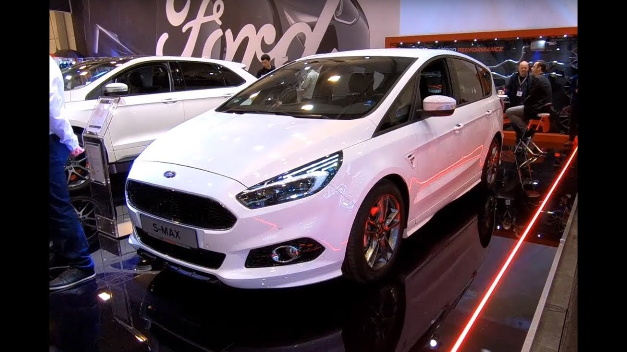 ford s max st line frost white new model walkaround. Black Bedroom Furniture Sets. Home Design Ideas