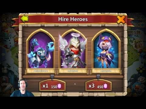 Michael The Arch Angel FINALLY You Show Youself ONEE TIME Castle Clash