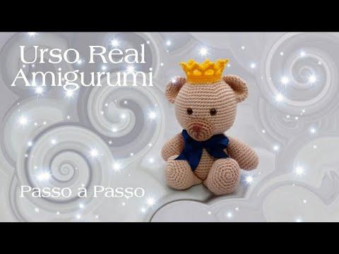 Ursinho Amigurumi no Elo7   Elis Santana - Artes em Crochê e Tricô ...   360x480