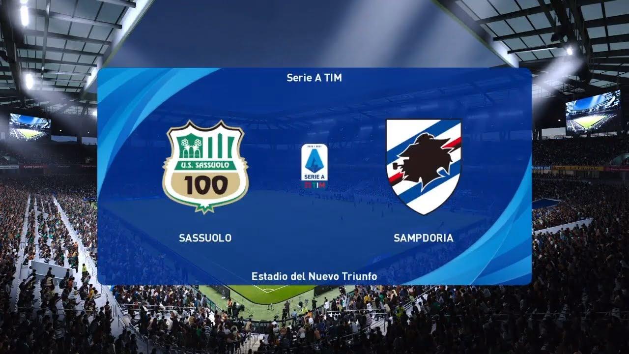 PES 2021 - Serie A - Sassuolo vs Sampdoria - 24/04/21 - YouTube