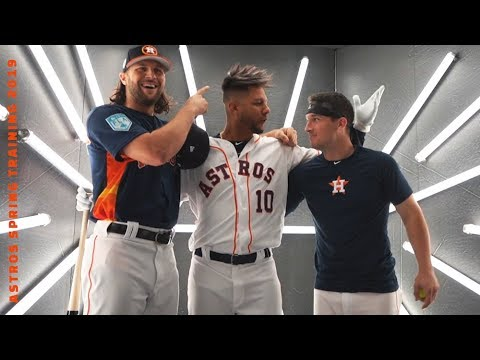 Crashing Yuli S Photoshoot With Marisnick Mlb Spring Training
