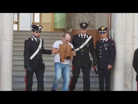 Ndrangheta Reggio Calabria 29 Arresti. Video uscita arrestati