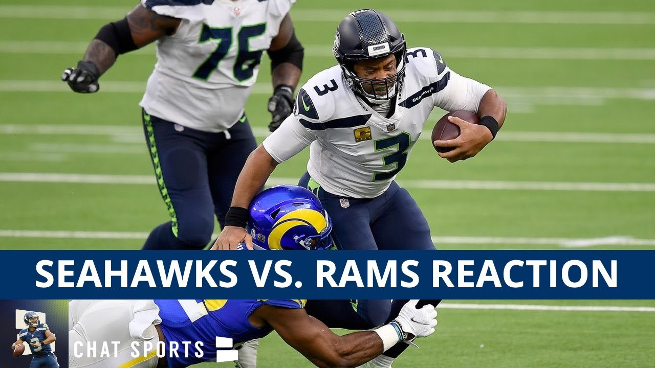 Seahawks News & Rumors: Russell Wilson, Jamal Adams & Chris Carson Injury After 23-16 Loss vs. Rams
