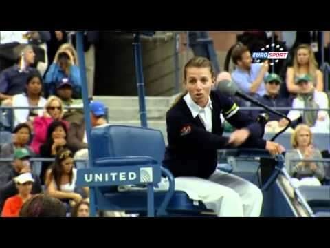 Serena Williams vs Eva Asderaki _US Open2011