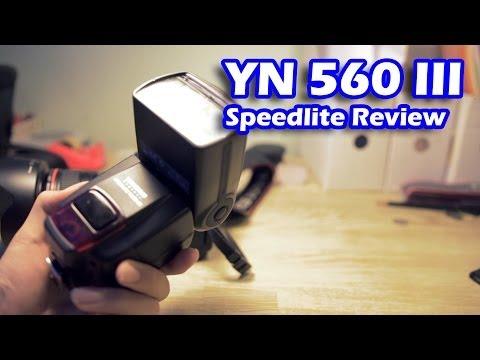 YN 560 III Flash Review