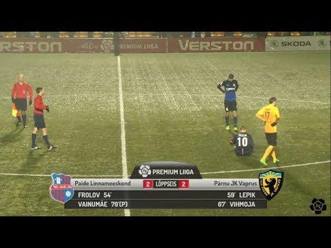 4. voor 2018: Paide Linnameeskond - Pärnu JK Vaprus 2:2 (0:0)