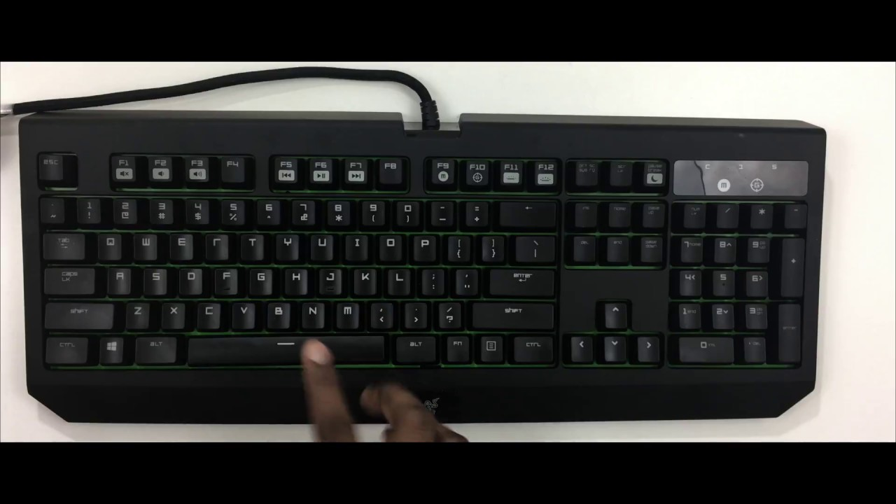 0a17af9bf06 Razer Blackwidow Ultimate 2016 Edition - Best Mechanical Keyboard for Mac  Review 2