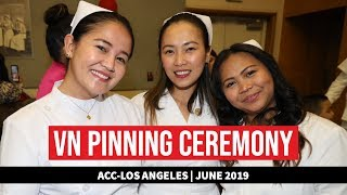 ACC-Los Angeles VN Pinning: June 2019