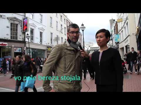 Ирландцы говорят по - русски  (Irish people speak  in russian)