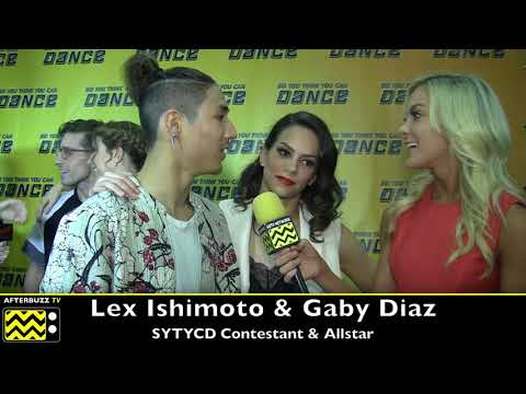 SYTYCD Lex Ishimoto tells ABTV how important Taylor Sieve is to him!
