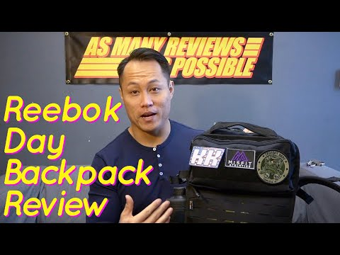 Reebok Day Backpack Review