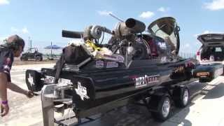 WICKED 555ci Twin Turbo EFI Drag Boat