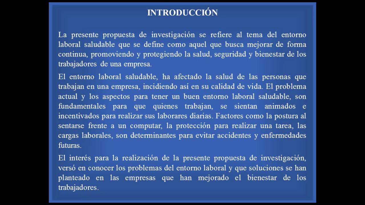 INTRODUCCIÓN PROYECTO DE INVESTIGACIÓN