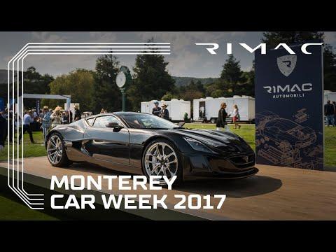Rimac at Monterey Car Week 2017