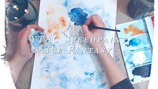 Baixar Youtube Artists Collective - Ice Fantasy SPEEDPAINT!