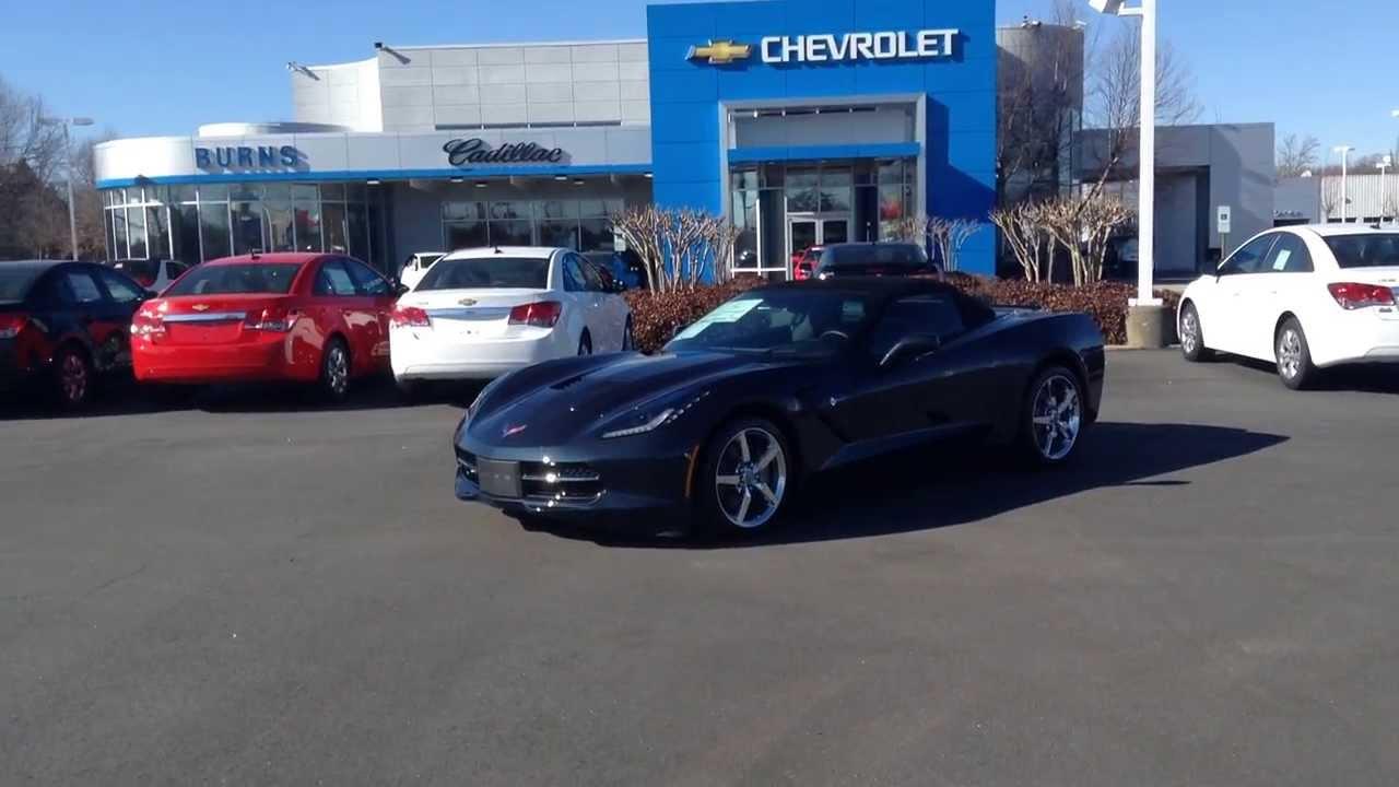 2014 Chevrolet Corvette Convertible Night Race Blue, Burns ...