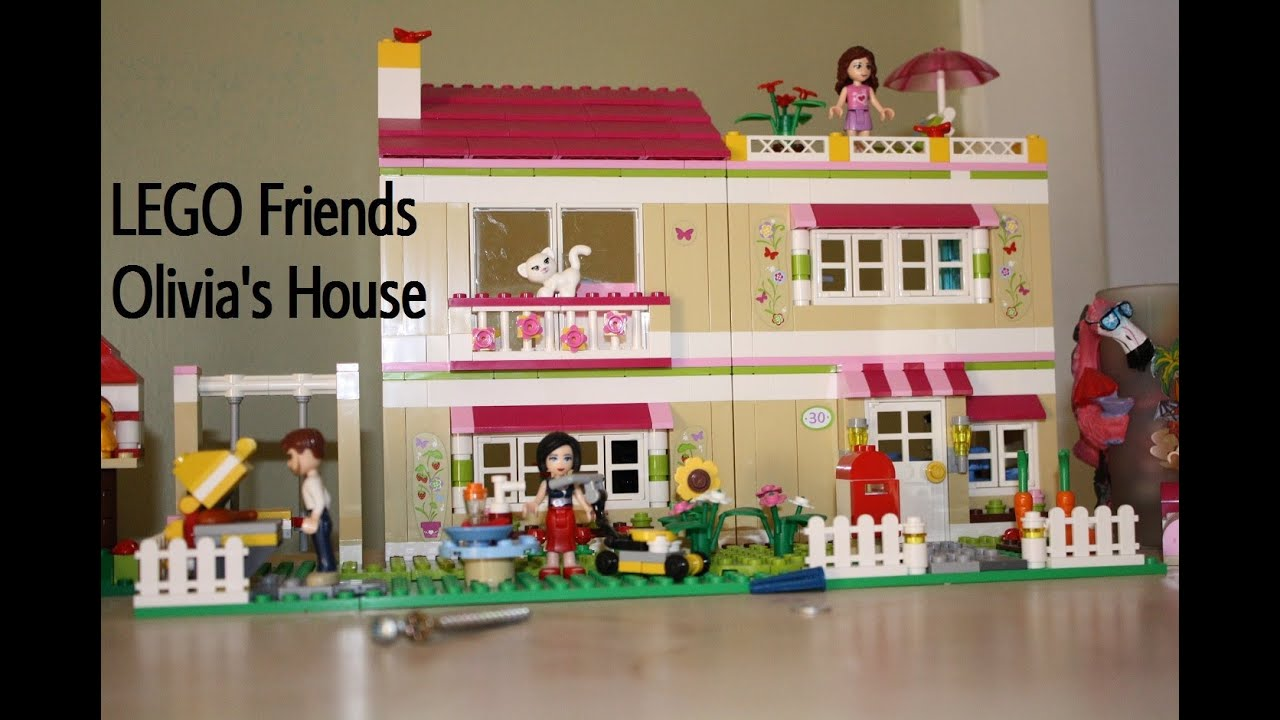 Lego Friends Olivia's Zwembad 41090 Lego Friends Olivia 39s House Fast Making Video Youtube