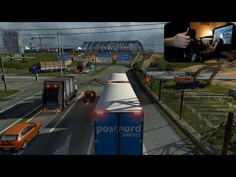 Euro Truck Simulator 2 + G27 : Tallinn to Valga via Pärnu & PostNord Tandem (ProMods 1.90)