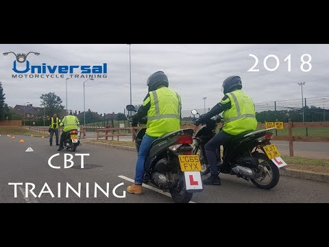 UK CBT Motorcycle / Moped Test 2018 updated - Automatic 125cc - Universal Motorcycle Training