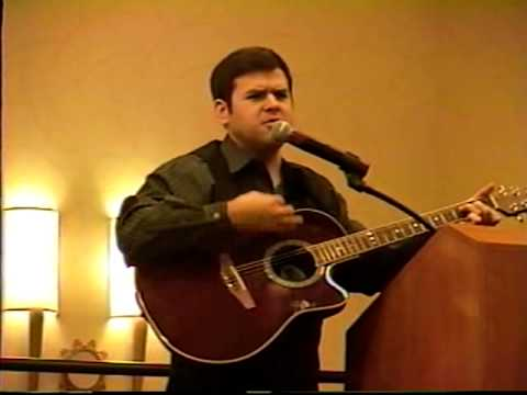 Michael Valcour sings at Cal TASH Conference 2008