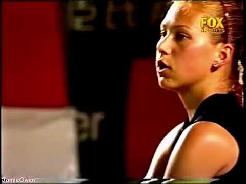 Anna Kournikova vs Jennifer Capriati 2001 Hong Kong Highlights