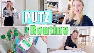 MEINE PUTZ ROUTINE | Haushalt machen & Aufräumen | Isabeau