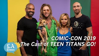 'Teen Titans Go!' Cast Can't Believe What They Get Away With