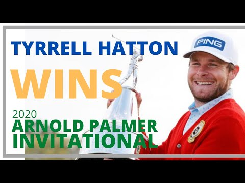 Tyrrell Hatton Arnold Palmer Invitational 2020 Winner - Press Conference Interview (FIRST TO TEE)  ▶