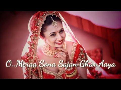 Best Romantic Heart Touch Special Whatsapp Status Love Song Mera Sona Sajan Ghar Aaya Lyrics Status