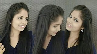 2 minute french headband hairstyle with trick   diy headband hairstyles for girls