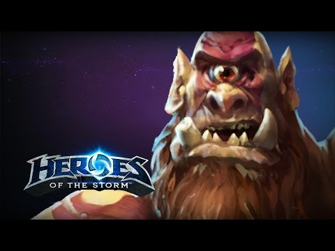 ♥ Heroes of the Storm (A-Z Gameplay) Gall'Cho (HoTs Quick Match)