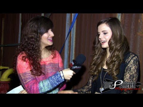 Tiffany Alvord Interview with Rock Forever Magazine