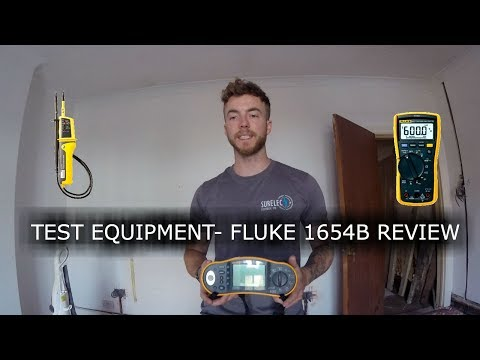 SurelecTV- ELECTRICIANS TEST EQUIPMENT- FLUKE 1654B REVIEW