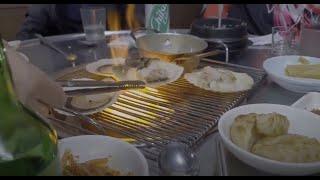 """서원시장 맛집에서의 """"가리비 구이"""" 먹방 브이로그. (…"""