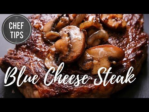 Blue Cheese Steak Recipe