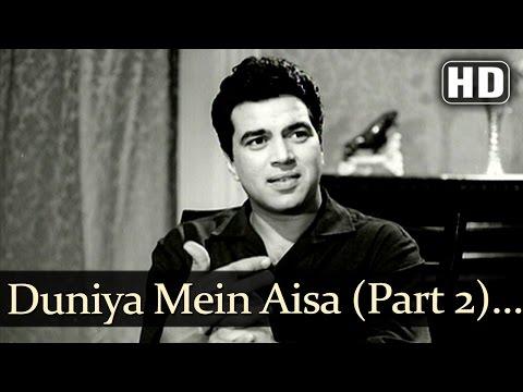 Duniya Mein Aisa Kaha Part 2 HD  Devar   Dharmendra  Sharmila Tagore  Lata Mangeshkar