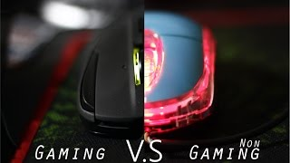 Parody Gaming mouse VS non gaming mouse