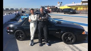 Project Fox Mustang - Youtuber Hot Lap Challenge (W/ Justin Bell)