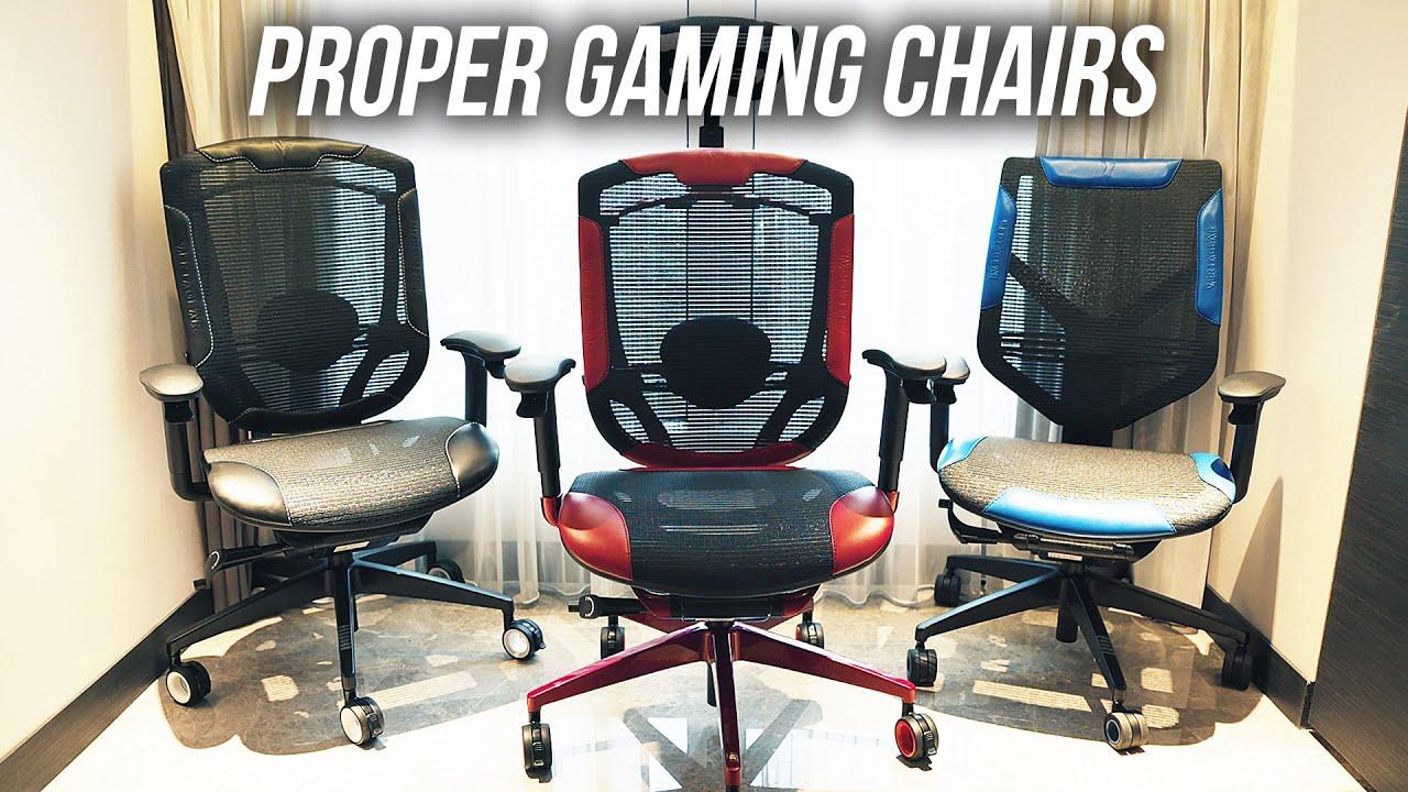 Proper Gaming Chairs VERTAGEAR Triigger 275 & 350