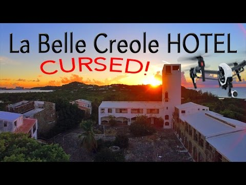 The CURSED Hotel ~ LA BELLE CREOLE ~ Saint Martin ~ Best UAV Drone Caribbean ~ WeBeYachting.com
