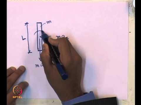 Mod-02 Lec-03 L3-SDOF System, Types of Vibrations, Free Vibration